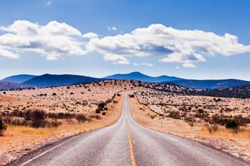 Davis Mountains High Desert Landscape Texas USA