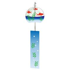 金魚鉢風の風鈴