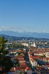 The Cityscape of the Slovenian capital Ljubljana
