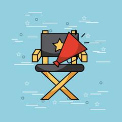 movies and cinema art concept vector icon illustration design graphic