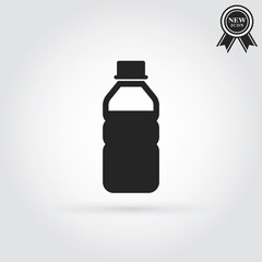 Water bottle.Vector design element set4.