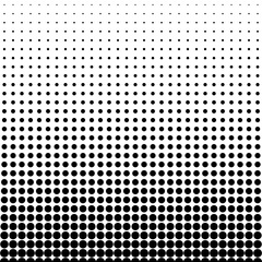 Halftone dots background. Texture vector illustration flat style