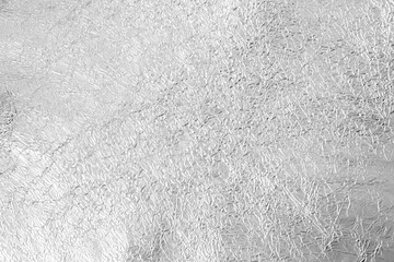 Silver background from foil texture