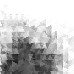 Abstract grayscale light template background