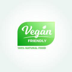 Vegan Friendly Natural Food Label