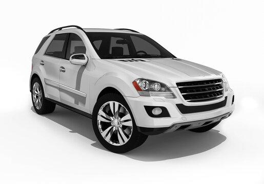 3D render image representing an luxurysuv / Luxury SUV