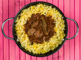Beef Madras Curry With Aromatic Pilau Rice