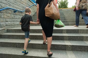 Fototapeta matka z dzieckiem obraz