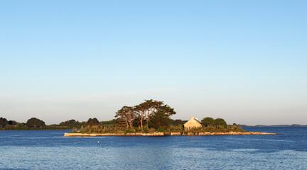 Île Quistinic dans le Morbihan