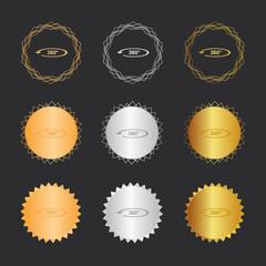 360 Grad VR - Bronze, Silber, Gold Medaillen