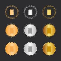 Speicherkarte - Bronze, Silber, Gold Medaillen