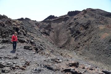 Wandern am Vulkan Teneguia, La Palma