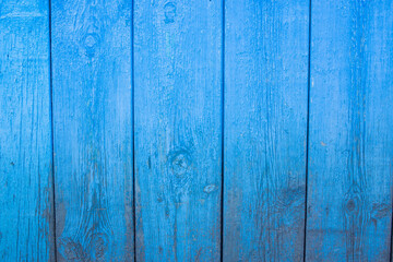vintage wooden blue background, close-up texture