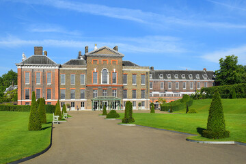 Kensington Palace in Kensington Gardens, London