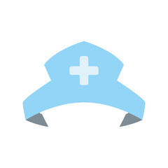 Nurse hat isolated vector illustration icon graphic design