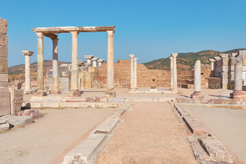 Basilica of St. John of Ephesus. Place of many pilgrimages and excursions. Located near the popular resort of Kusadasi.
