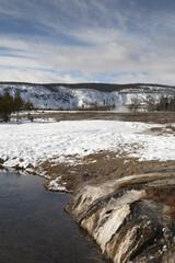 Firehole River, Winter, Yellowstone NP