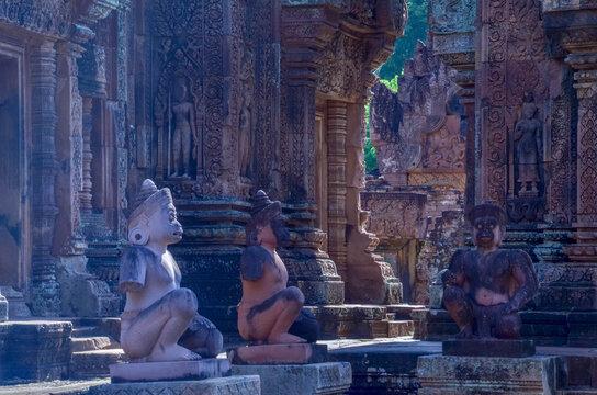 Banteay Srei ,Siem Reap,Combodia