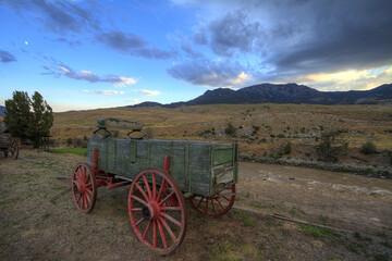Old green Wagon