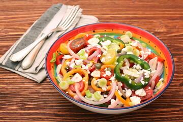 Light spring salad