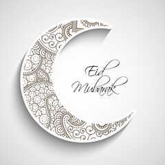 Illustration of elements for the ocassion of eid