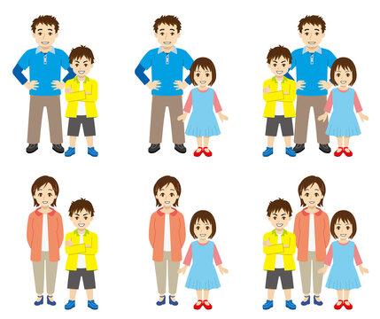 ひとり親の家族構成