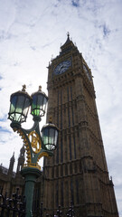 Photo of Big Ben in Westminster on a spring morning, London, United Kingdom