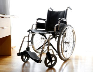 bedroom of the person with Wheelchair