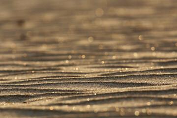 texture desert sand dunes waves