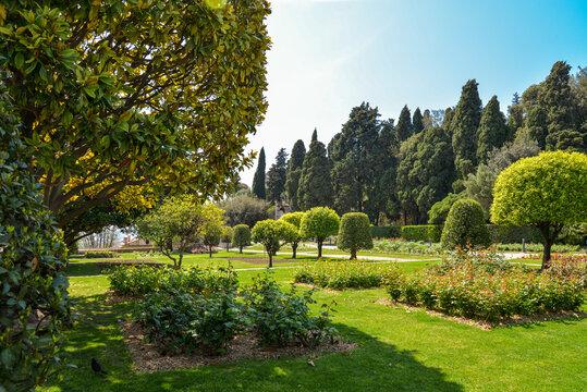 Garden Franciscan monastery