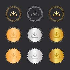 Herunterladen - Bronze, Silber, Gold Medaillen