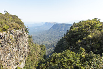 View from God's Window, Blyde River Canyon, Mpumalanga Province, South Africa