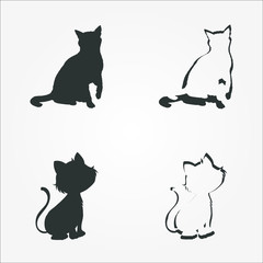 cats icon set