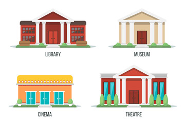 Cultural buildings set
