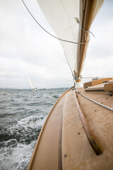 Sailing on Narragansett Bay