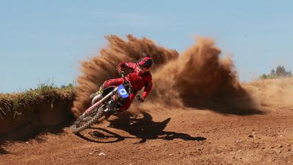 Poster Motorise motocross