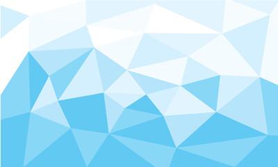vector of  blue triangular polygons pattern