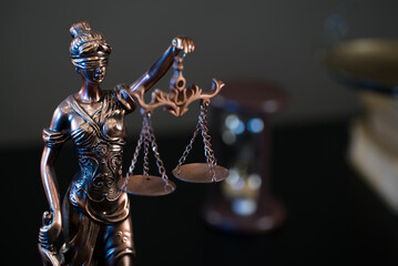 Law and Justice Theme. Lawyer Concept