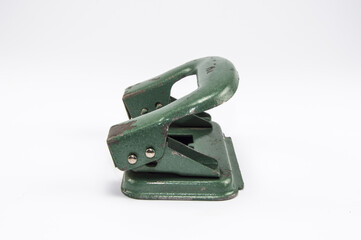 old office paper hole puncher