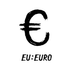 Currency - Grunge - Euro