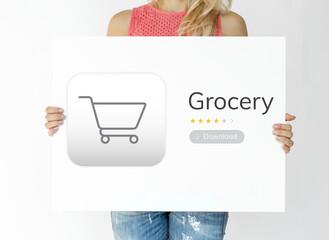 Grocery retail shop provide variety supply