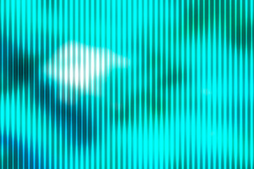 Turquoise green abstract with light lines blurred background