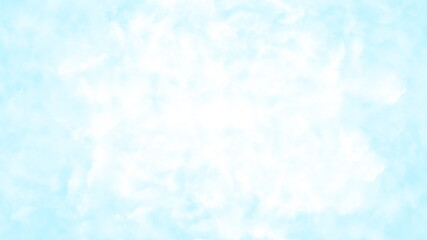 Bright light blue sky with white clouds - heaven and sunny day - Nature sky texture