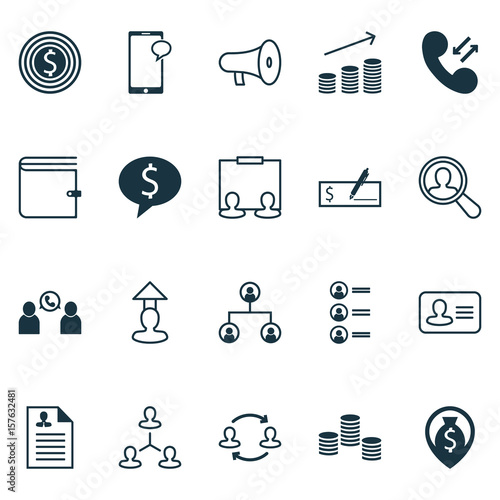 u0026quot hr icons set  collection of curriculum vitae  job applicants  bullhorn and other elements  also