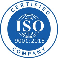 ISO 9001-2015 label certification new version