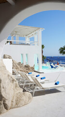 Photo from picturesque island of Mykonos, Cyclades, Greece