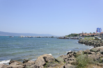 The view of Old Nessebar