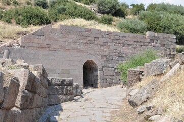 Ancient Assos in Turkey