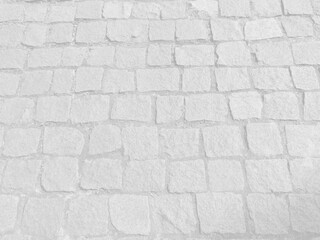 Pale bleached old sidewalk pavement background with copy space for your text and design.