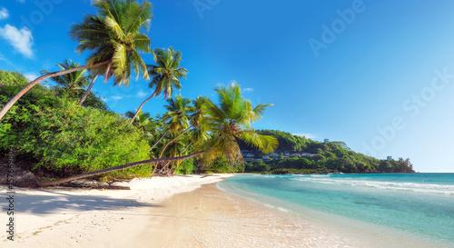 Anse Takamaka Beach, Mahe Island, Seychelles без смс